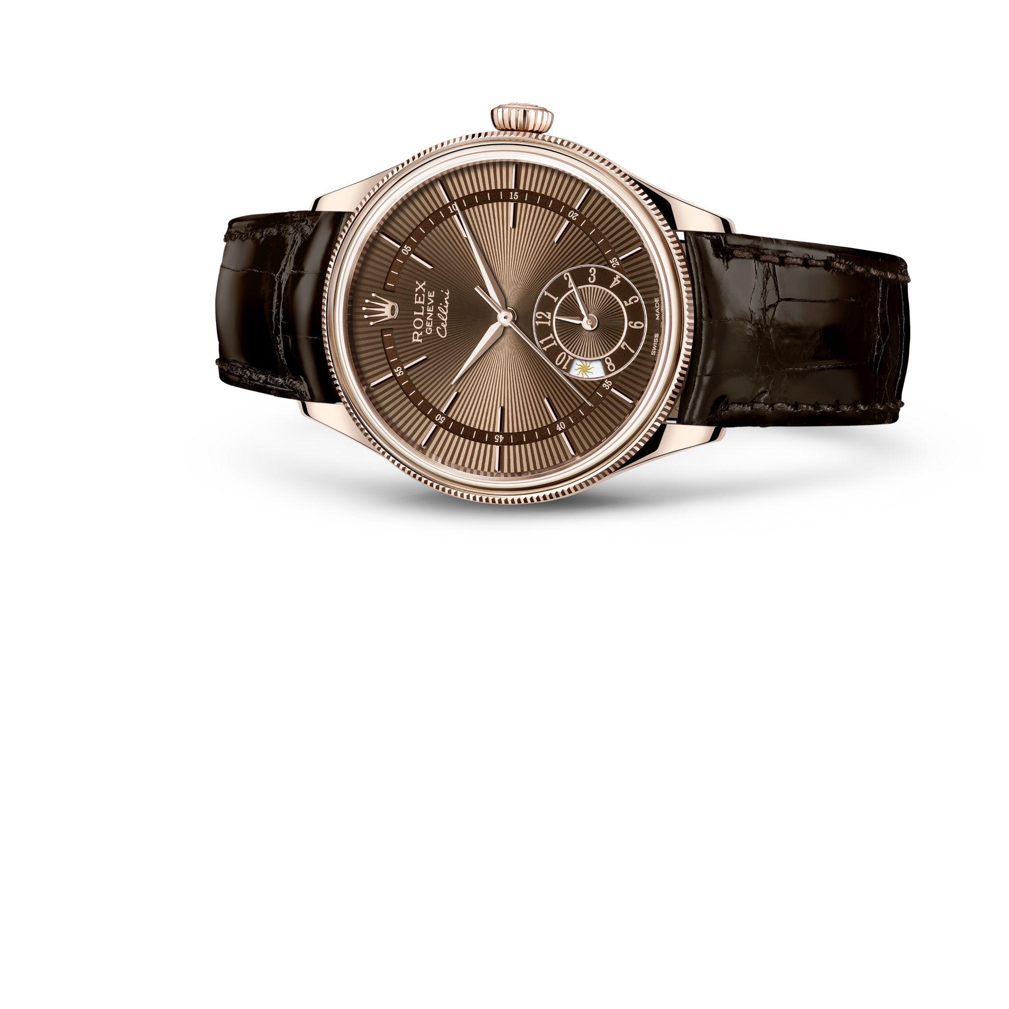 Rolex チェリーニ<br>デュアルタイム M50525-0015