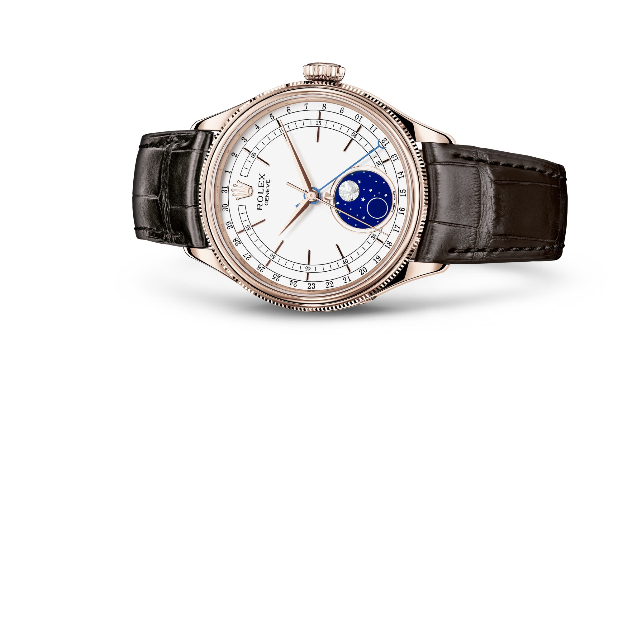 "Rolex <span lang=""en"">Cellini</span> Moonphase M50535-0002"