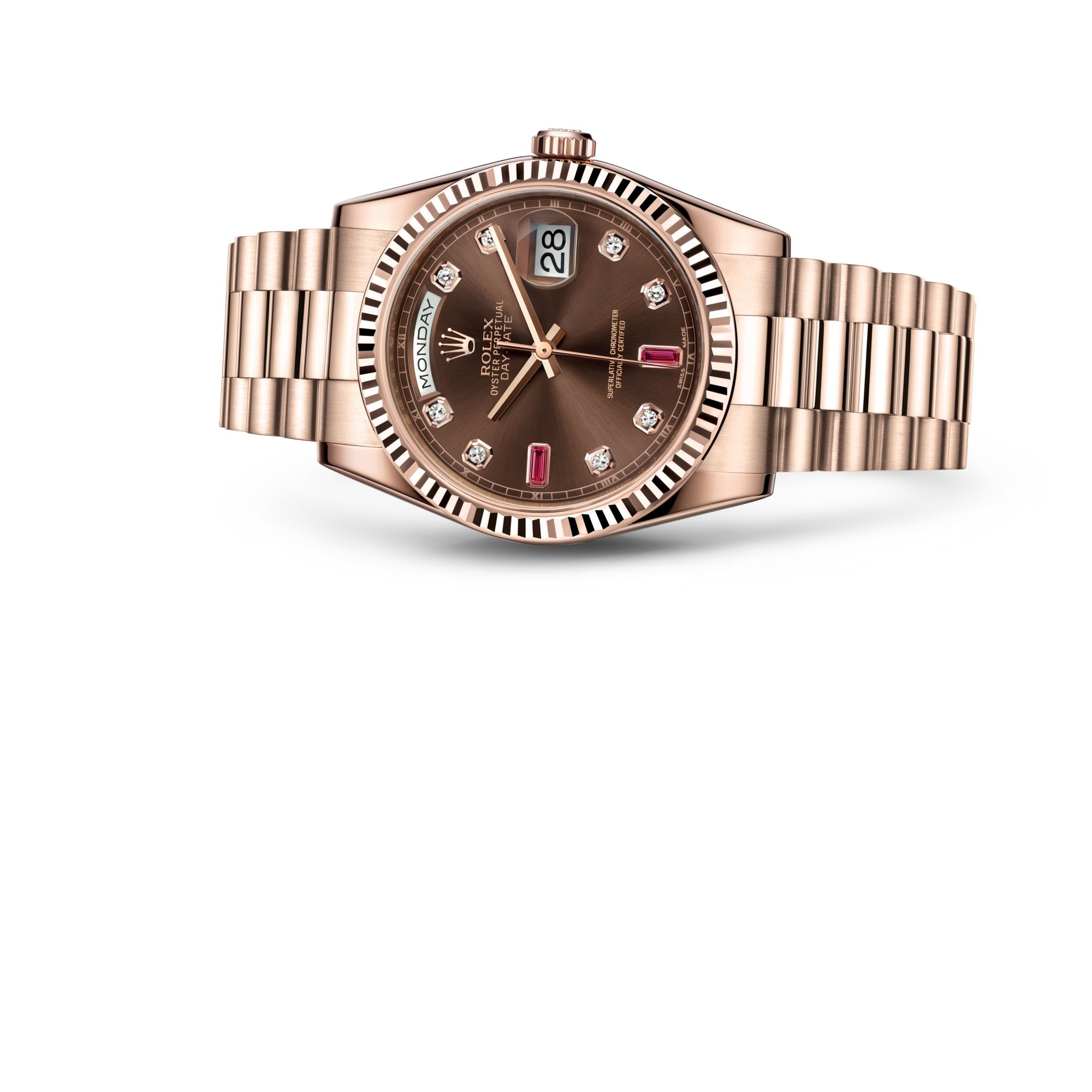 Rolex デイデイト 36 M118235F-0093