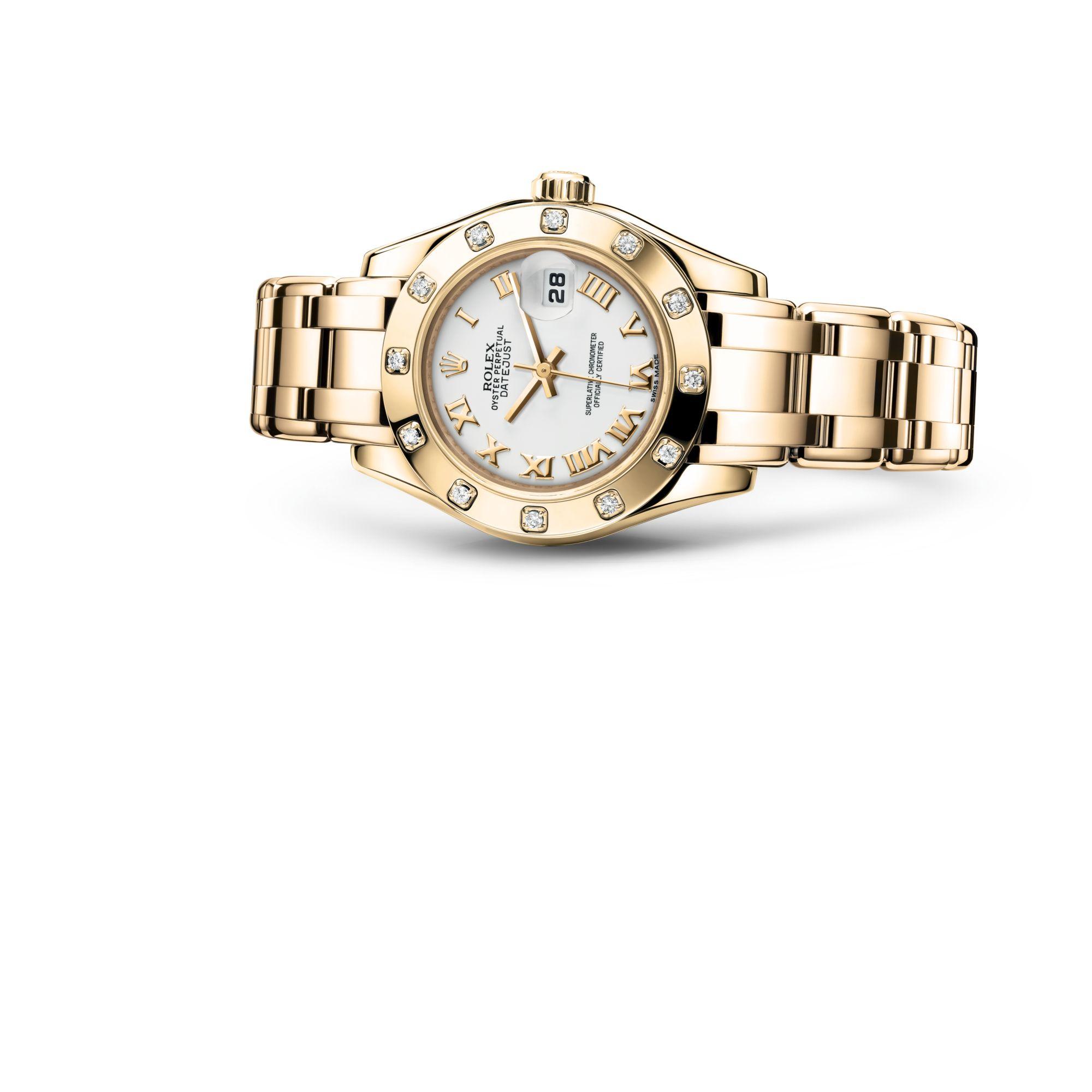 Rolex Pearlmaster 29 M80318-0054