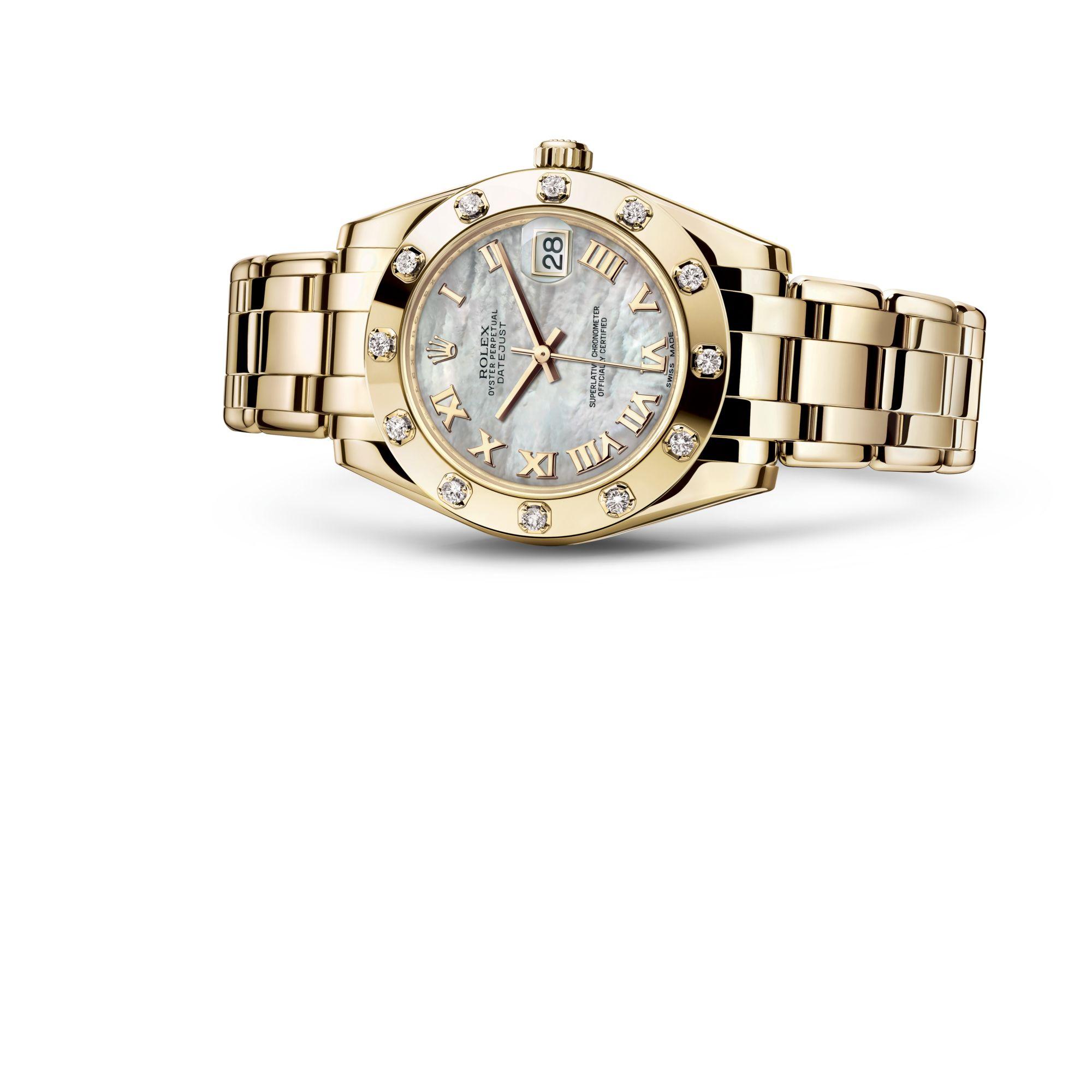 Rolex Pearlmaster 34 M81318-0005