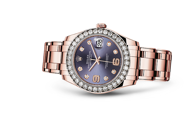Rolex women 39 s watches rolex featured selections for Rolex pearlmaster