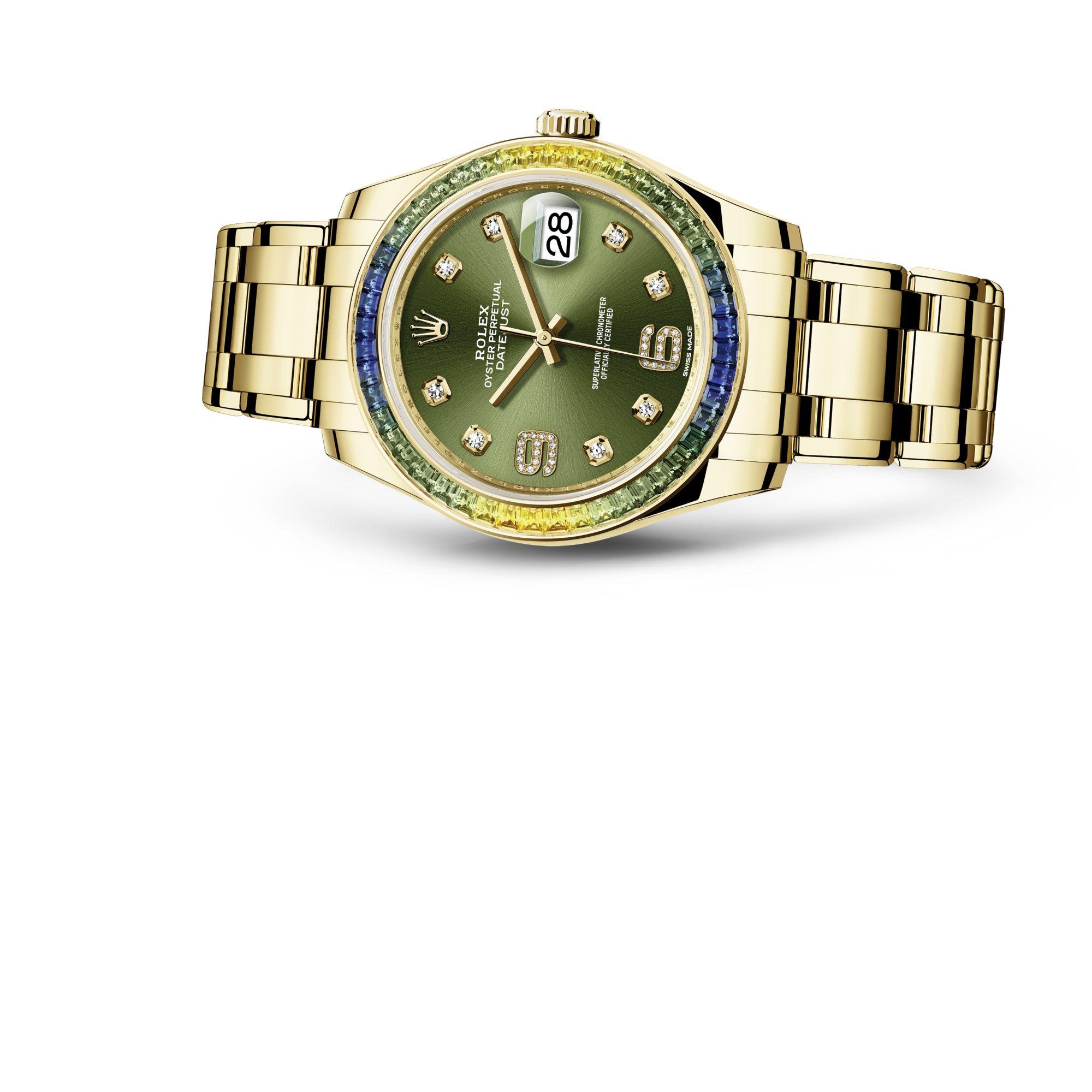 Rolex Pearlmaster 39 M86348SABLV-0003