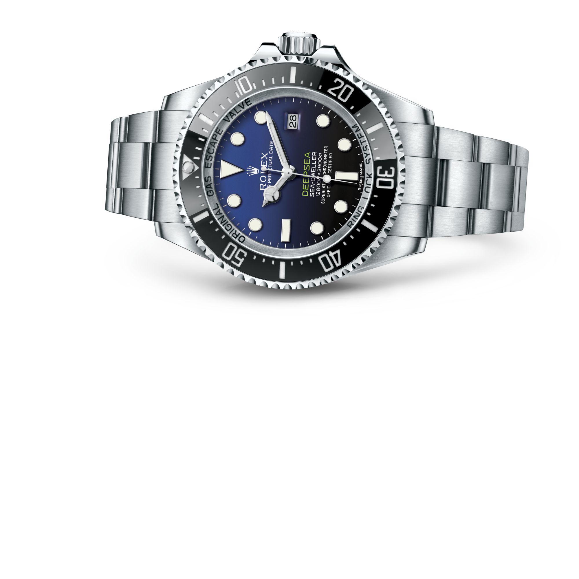Rolex Rolex Deepsea com mostrador D-blue M116660-0003