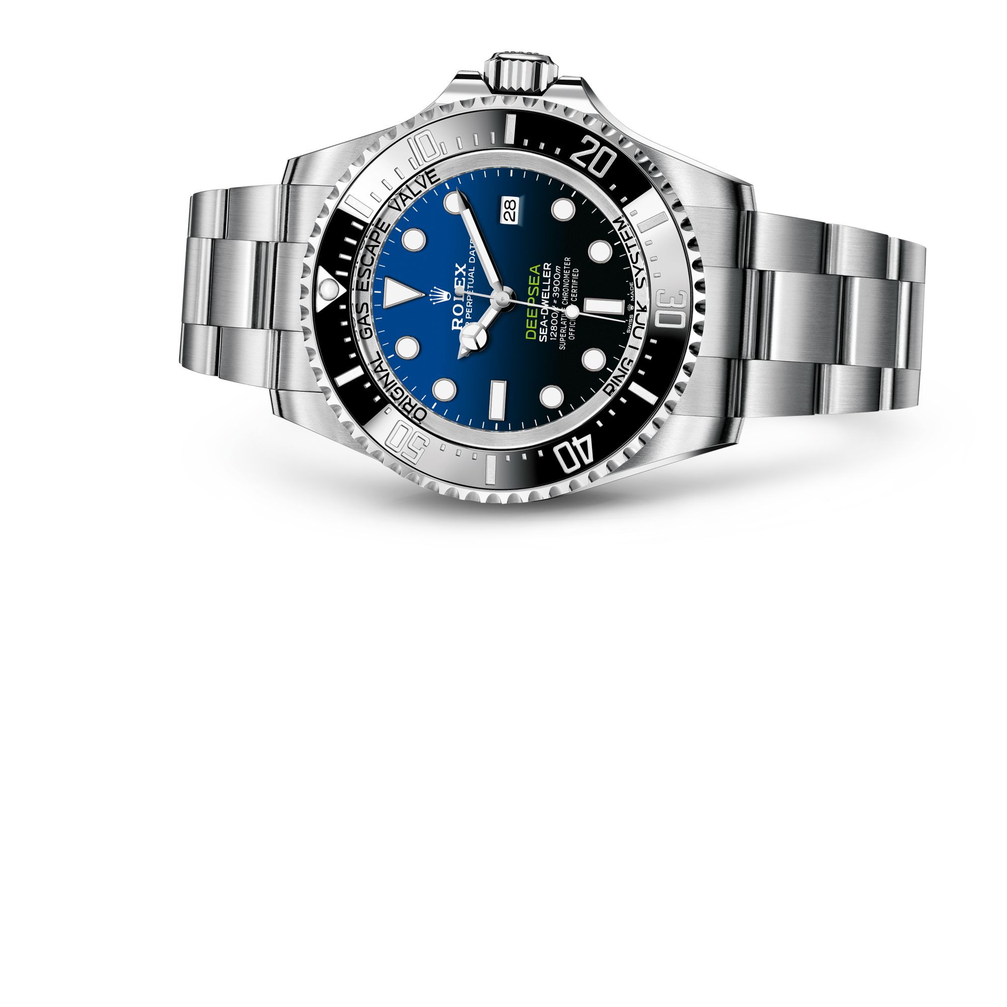 "Rolex ROLEX DEEPSEA配""D-blue""色表盘 M126660-0002"