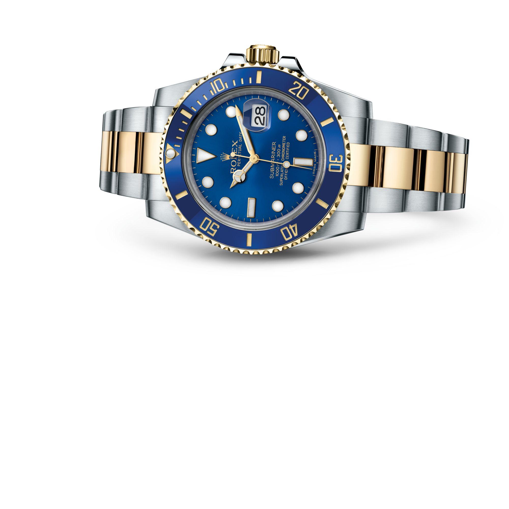 "Rolex <span lang=""en"">Submariner Date</span> M116613LB-0005"