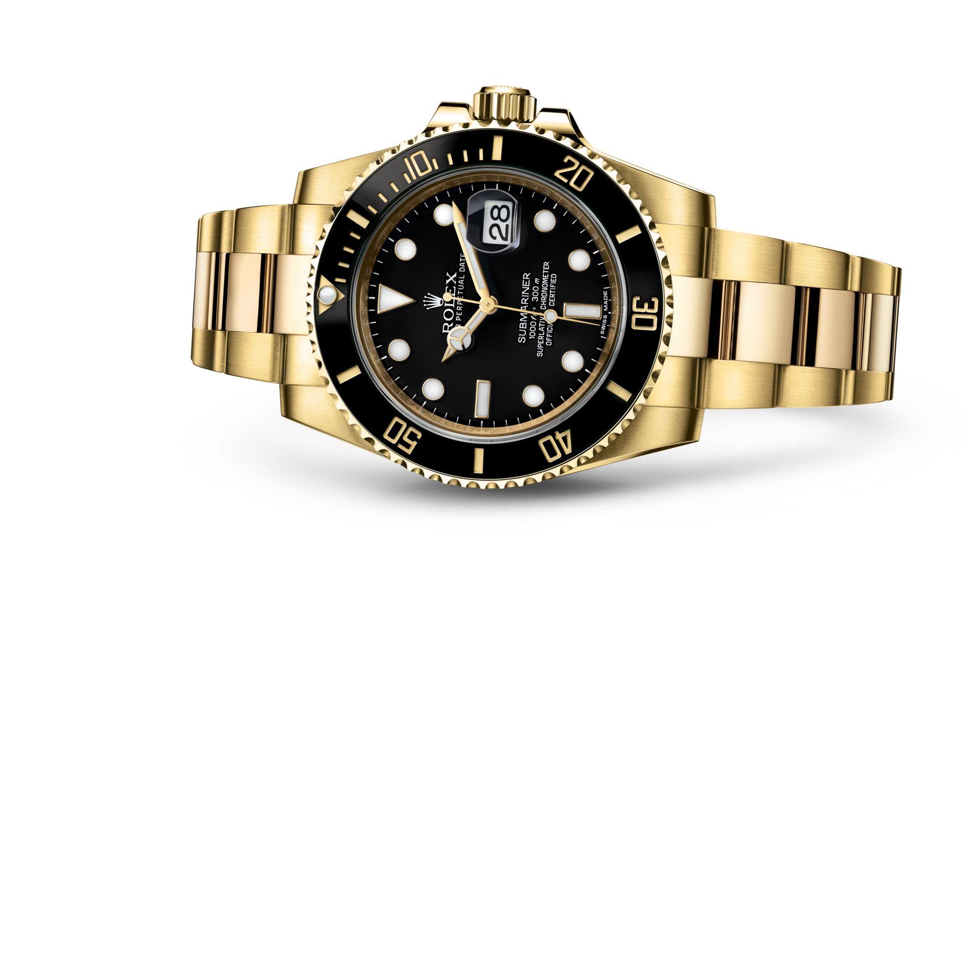 Rolex صبمارينر ديت M116618LN-0001